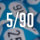 5/90 fixed odds lotto